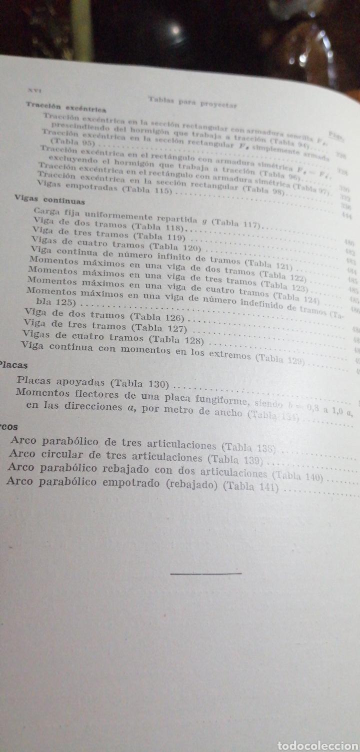 Libros de segunda mano: ANTIGUO LIBRO DE 1940 EL HORMIGÓN ARMADO POR RUDOLF SALIGER - Foto 10 - 188494383
