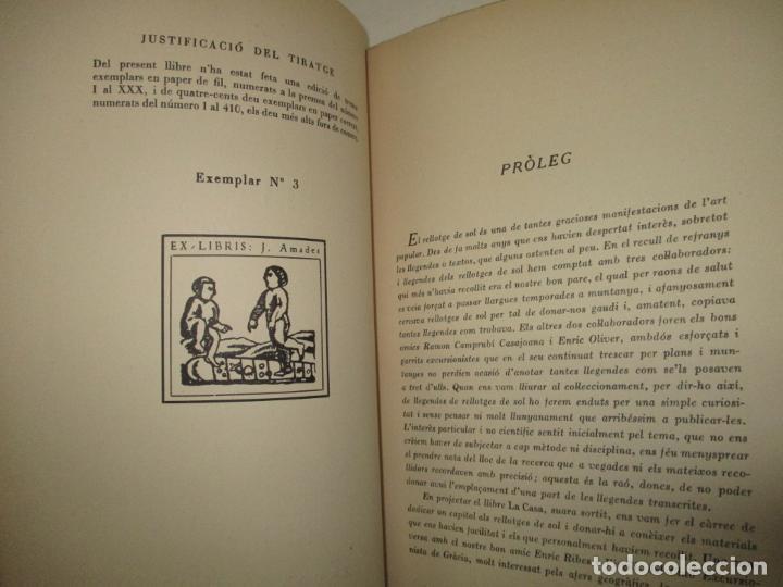 Libros de segunda mano: ART POPULAR. ELS RELLOTGES DE SOL. - AMADES, Joan. 1938. - Foto 2 - 123156288