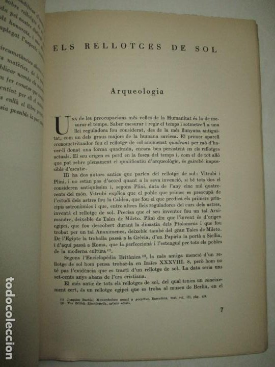 Libros de segunda mano: ART POPULAR. ELS RELLOTGES DE SOL. - AMADES, Joan. 1938. - Foto 3 - 123156288