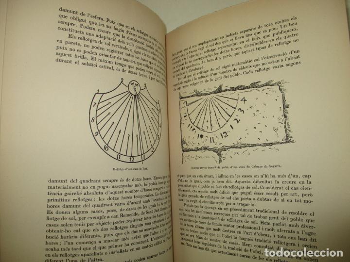 Libros de segunda mano: ART POPULAR. ELS RELLOTGES DE SOL. - AMADES, Joan. 1938. - Foto 4 - 123156288