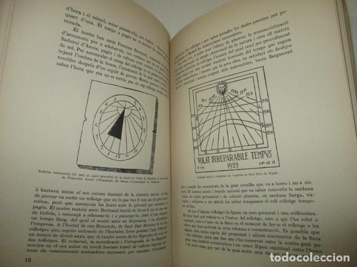 Libros de segunda mano: ART POPULAR. ELS RELLOTGES DE SOL. - AMADES, Joan. 1938. - Foto 5 - 123156288