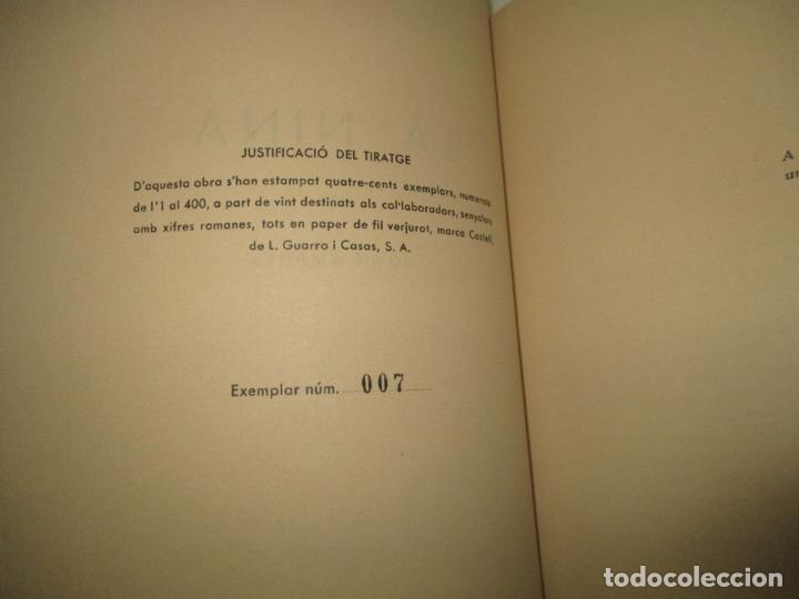 Libros de segunda mano: LA NINA. - AMADES, Joan. 1965. - Foto 2 - 123156432