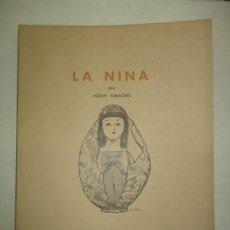 Libros de segunda mano: LA NINA. - AMADES, JOAN. 1965.. Lote 123156432