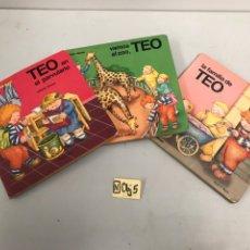 Libros de segunda mano: LOTE TEO. Lote 188523253