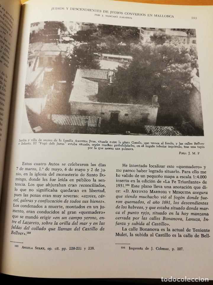 Libros de segunda mano: HISTORIA DE MALLORCA. TOMO X (COORDINADA POR J. MASCARÓ PASARIUS) - Foto 3 - 188564555