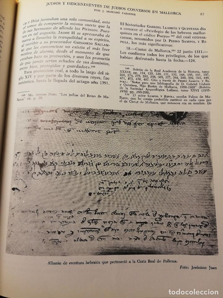 Libros de segunda mano: HISTORIA DE MALLORCA. TOMO X (COORDINADA POR J. MASCARÓ PASARIUS) - Foto 4 - 188564555