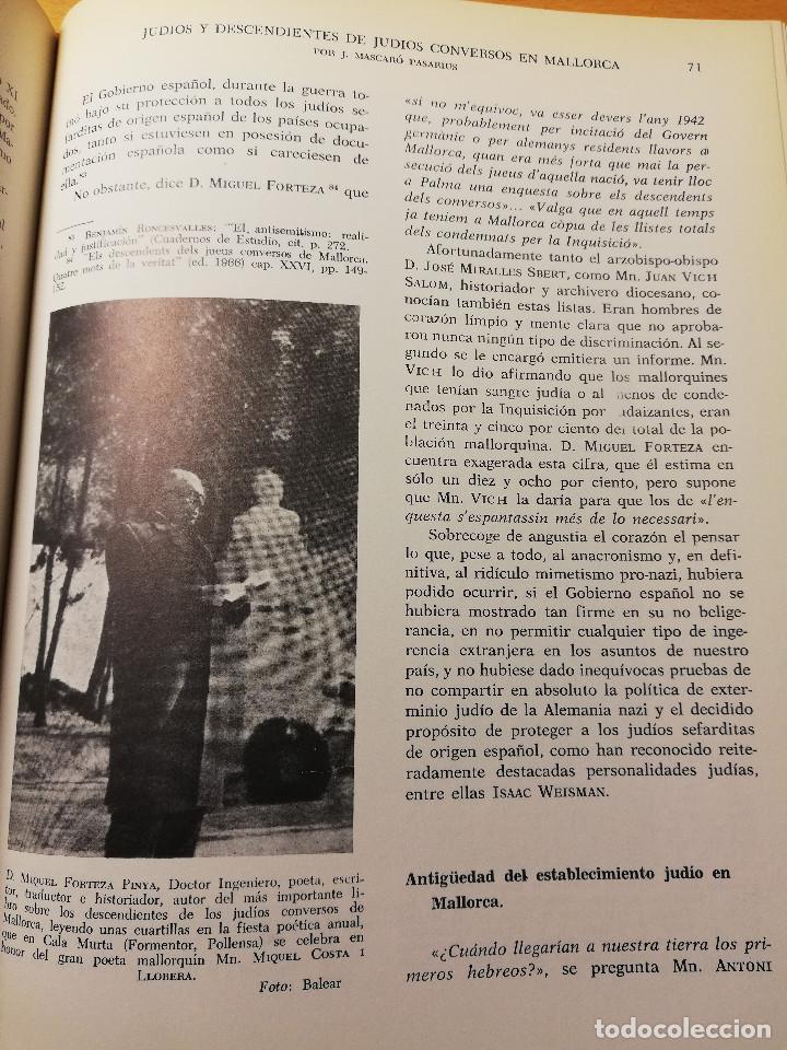 Libros de segunda mano: HISTORIA DE MALLORCA. TOMO X (COORDINADA POR J. MASCARÓ PASARIUS) - Foto 5 - 188564555