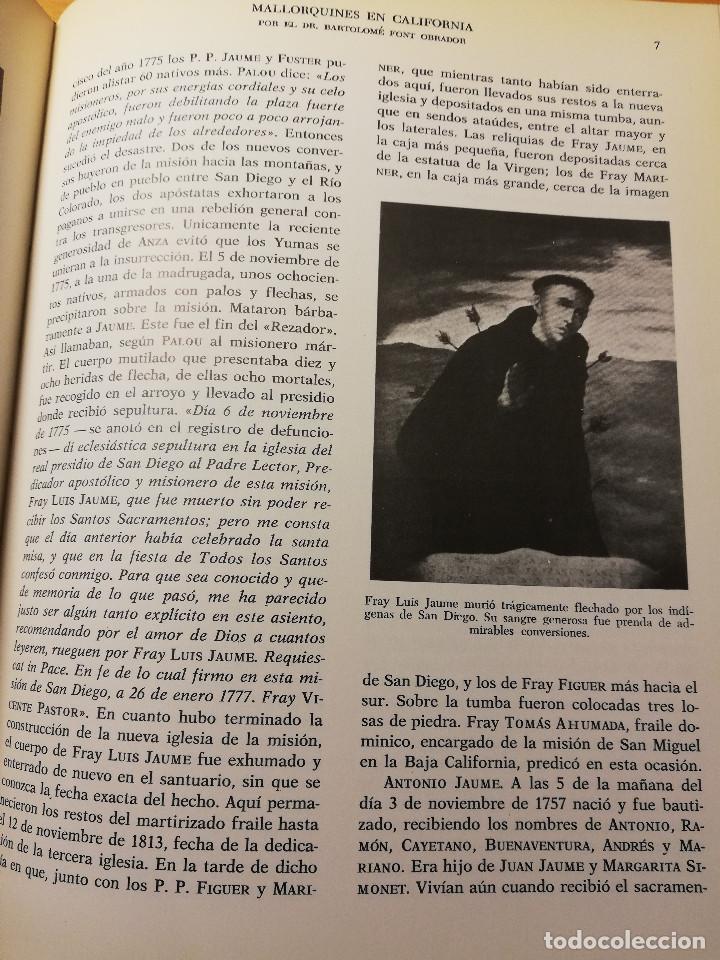 Libros de segunda mano: HISTORIA DE MALLORCA. TOMO X (COORDINADA POR J. MASCARÓ PASARIUS) - Foto 9 - 188564555