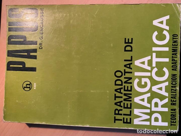 TRATADO ELEMENTAL DE MAGIA PRÁCTICA (Libros de Segunda Mano - Parapsicología y Esoterismo - Otros)
