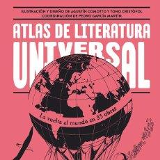 Libros de segunda mano: ATLAS DE LITERATURA UNIVERSAL.- NUEVO. Lote 188670577