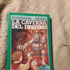 Libros de segunda mano: LA CAVERNA DEL DESTINO (EL REINO DE ZORK). ALTEA JUNIOR. ÚNICO EN TC. LIBRO JUEGO.. Lote 188700027