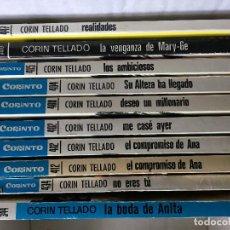 Libros de segunda mano: CORIN TELLADO, SERIE CORINTO, A 1 EURO UNIDAD. Lote 188713235