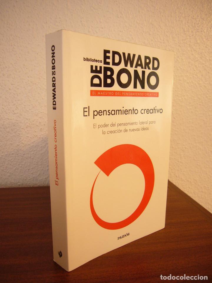 EDWARD DE BONO: EL PENSAMIENTO CREATIVO (PAIDÓS, 2016) COMO NUEVO (Libros de Segunda Mano - Pensamiento - Otros)