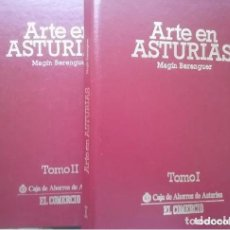 Libros de segunda mano: ARTE EN ASTURIAS, MAGIN BERENGUER, EL COMERCIO, CAJA DE ASTURIAS. Lote 188816765