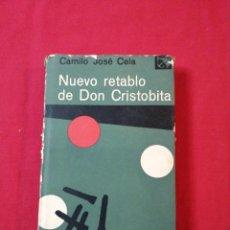 Libri di seconda mano: LITERATURA ESPAÑOLA CONTEMPORANEA. NUEVO RETABLO DE SAN CRISTOBITA. CAMILO JOSE CELA. Lote 188830425