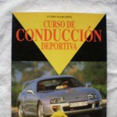 Libros de segunda mano: CURSO DE CONDUCCION DEPORTIVA. Lote 189118850