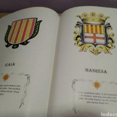Libros de segunda mano: ELS ESCUTS MUNICIPAL DE CATALUNYA EL BAGES - ESCUDOS MUNICIPALES DE CATALUNYA EL BAGES MANRESA. Lote 189203108