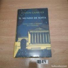 Libros de segunda mano: EL MUNDO DE SOFÍA. Lote 189224220