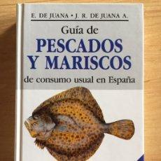 Libros de segunda mano: GUÍA DE PESCADOS Y MARISCOS DE CONSUMO USUAL EN ESPAÑA. Lote 189241532