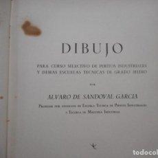 Libros de segunda mano: ÁLVARO DE SANDOVAL GARCÍA DIBUJO Y97646 . Lote 189257097