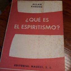 Libros de segunda mano: ¿QUE ES EL ESPIRITISMO? .ALLAN KARDEC. Lote 189266411