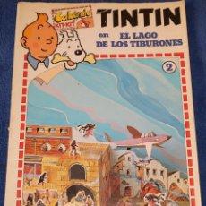 Libros de segunda mano: CALCOMIC - KIT KIT - TINTÍN EN EL LAGO DE LOS TIBURONES - JOKER, PUBLICIDAD Y PROMOCIONES (1982). Lote 220531873
