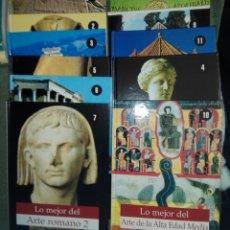 Libros de segunda mano: LO MEJOR DEL ARTE....30 LIBROS. Lote 189308051