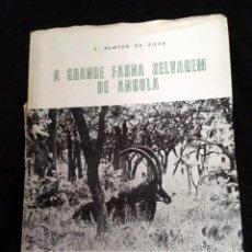 Libros de segunda mano: A GRANDE FAUNA SELVAGEM DE ANGOLA - FAUNA SALVAJE ANGOLA - S. NEWTON DA SILVA - MUY RARO. Lote 189375955