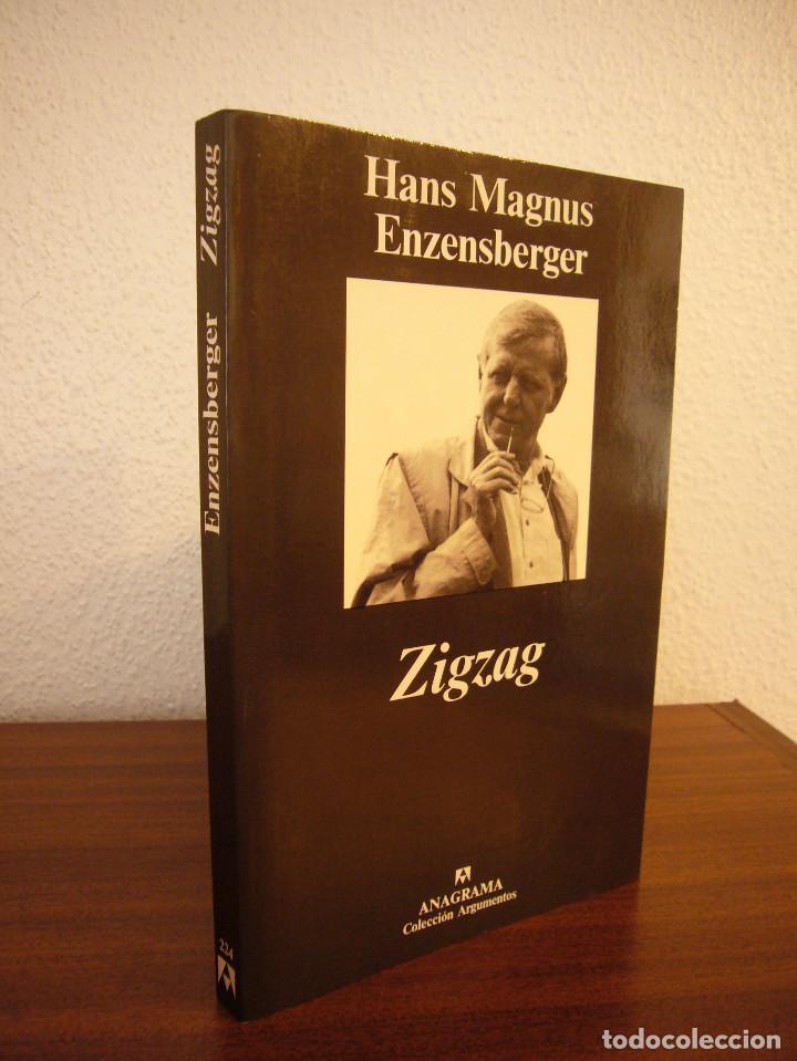 HANS MAGNUS ENZENSBERGER: ZIGZAG (ANAGRAMA, 1999) MUY BUEN ESTADO (Libros de Segunda Mano - Pensamiento - Otros)