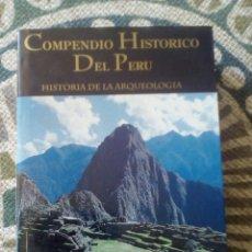 Libros de segunda mano: COMPENDIO HISTÓRICO DEL PERÚ, TOMO I. HISTORIA DE LA ARQUEOLOGÍA (DEL PALEOLÍTICO AL IMPERIO INCA). Lote 189483578