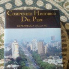 Libros de segunda mano: COMPENDIO HISTÓRICO DEL PERÚ, TOMO VI. LA REPÚBLICA (S. XX). Lote 189483711