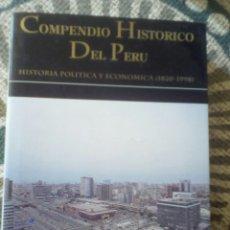 Libros de segunda mano: COMPENDIO HISTÓRICO DEL PERÚ, TOMO VII. HISTORIA POLÍTICA Y ECONÓMICA (1820-1998). Lote 189483902