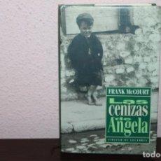Libros de segunda mano: LAS CENIZAS DE ANGELA. Lote 189490257