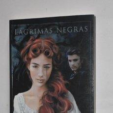 Libros de segunda mano: LIBRO LÁGRIMAS NEGRAS VIKI TAPADA 2008 ENTRELÍNEAS EDITORES CON DEDICATORIA ESCRITORA BRUJA BLANCA. Lote 189497646