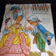 Libros de segunda mano: REVISTA MARIA ANGELA EXTRA DE CARNAVAL . MUÑECAS CON DISFRAZ MODELOS . RIO DE JANEIRO. Lote 189592422
