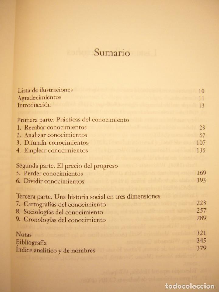Libros de segunda mano: PETER BURKE: HISTORIA SOCIAL DEL CONOCIMIENTO VOL. II (PAIDÓS, 2012) MUY BUEN ESTADO. RARO. - Foto 5 - 189693105