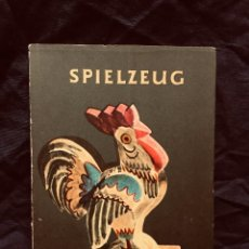 Libros de segunda mano: SPIELZEUG JUGUETES ERWIN ANDRA 1955 MADERA HOJALATA ALEMANIA. Lote 189724751