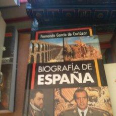 Livros em segunda mão: BIOGRAFIA DE ESPAÑA. FERNANDO GARCIA DE CORTAZAR. Lote 189758390