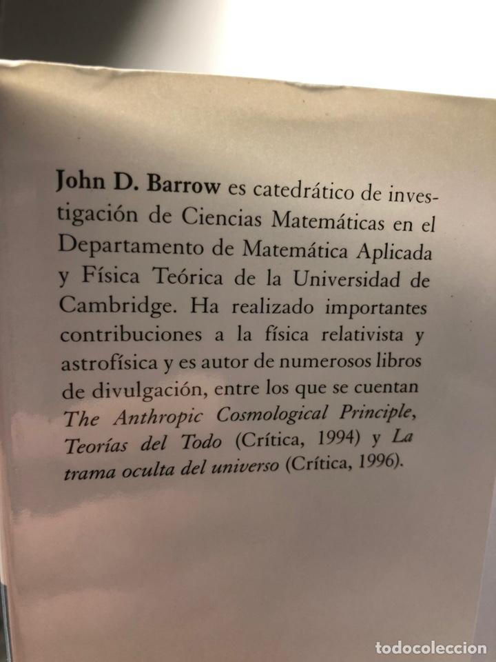 Libros de segunda mano: EL LIBRO DE LA NADA ···JOHN D. BARROW ·· Edit. CRITICA ··· DRAKONTOS - Foto 2 - 189761967