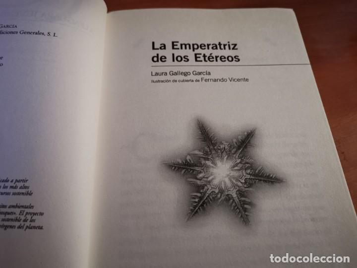 Libros de segunda mano: LA EMPERATRIZ DE LOS ETÉREOS LAURA GALLEGO GARCÍA ALFAGUARA 2008 - Foto 3 - 262965175
