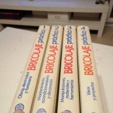 Libros de segunda mano: TRAST 4 TOMOS BRICOLAJE PRACTICO PLANETA. Lote 189884832