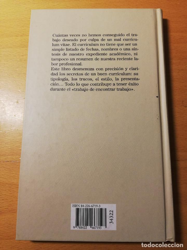 Libros de segunda mano: CÓMO REDACTAR UN CURRÍCULUM VITAE EFICAZ (E. COBALCHINI CONTI / A. MARÍN HILL) - Foto 5 - 189941707