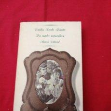 Livros em segunda mão: LITERATURA ESPAÑOLA CONTEMPORANEA. LA MADRE NATURALEZA. EMILIA PARDO BAZAN. Lote 190004652