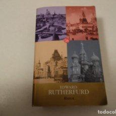 Libros de segunda mano: EDWARD RUTHERFURD. RUSOS. Lote 93966935