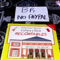 Libros de segunda mano: LIBRO HOBBY RECORTABLES CULTURA Y OCIO PROFESIONES Y OFICIOS INCOMPLETO VER FOTOS. Lote 190060051