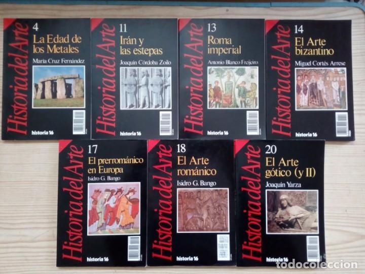 HISTORIA 16 - HISTORIA DEL ARTE - 14 TOMOS (Libros de Segunda Mano - Bellas artes, ocio y coleccionismo - Otros)