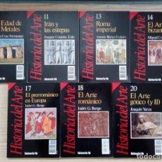 Libros de segunda mano: HISTORIA 16 - HISTORIA DEL ARTE - 14 TOMOS. Lote 190088216
