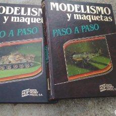 Libros de segunda mano: LOTE 2 LIBROS 1984 MODELISMO.. Lote 190088342