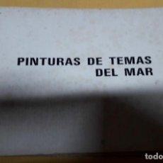 Libros de segunda mano: PINTURAS TEMAS DEL MAR. Lote 190155932
