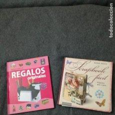 Libros de segunda mano: SCRAPHOOK FÁCIL Y REGALOS ORIGINALES.. Lote 190168125